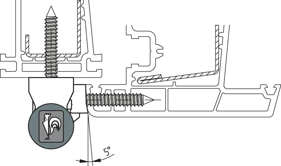 Dr Hahn Universalband KT-N 6RAufdeckbereich 22-27 mmK49050000 braun